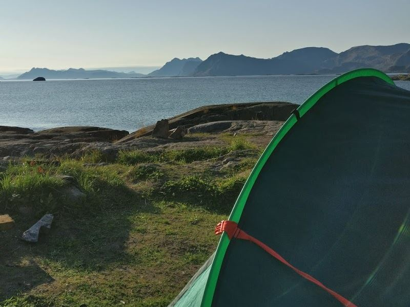 wild camping spots norway how to find featured image
